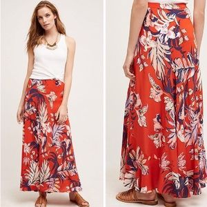Anthropologie HD In Paris Paso Robles maxi skirt